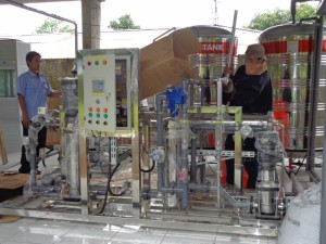 mesin reverse osmosis
