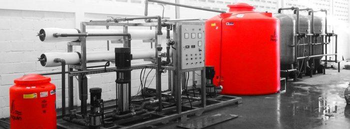 Mesin ro reverse osmosis untuk air payau