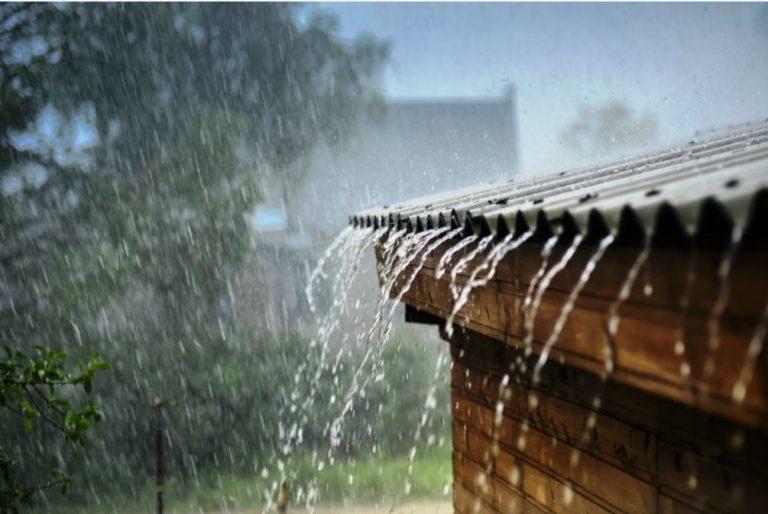 kandungan air hujan