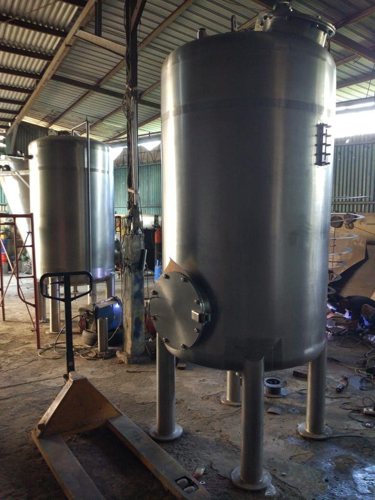tabung filter stainless Pabrik amdk